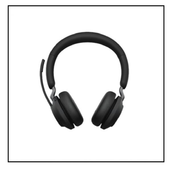 Jabra Evolve2 65, Link380a MS Stereo Black