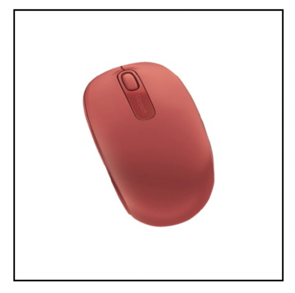 Microsoft Wireless Mobile Mouse 1850 – Flame Red V2