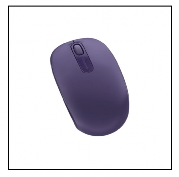 Microsoft Wireless Mobile Mouse 1850 - Purple