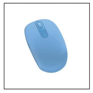 Microsoft Wireless Mobile Mouse 1850 – Cyan Blue